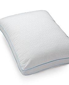 CLOSEOUT! SensorGel Signature SensorElle Memory Fiber Down Alternative Standard/Queen Pillow, Gusseted, Created for Macy's