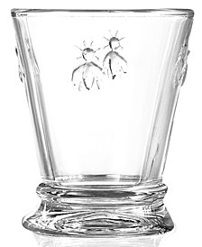 La Rochère Glassware, Set of 6 Napoleonic Bee Tumblers