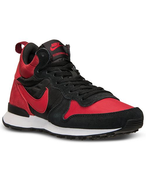 on sale 95bd1 ddd72 Nike Men's Internationalist Mid Casual Sneakers from Finish Line ...