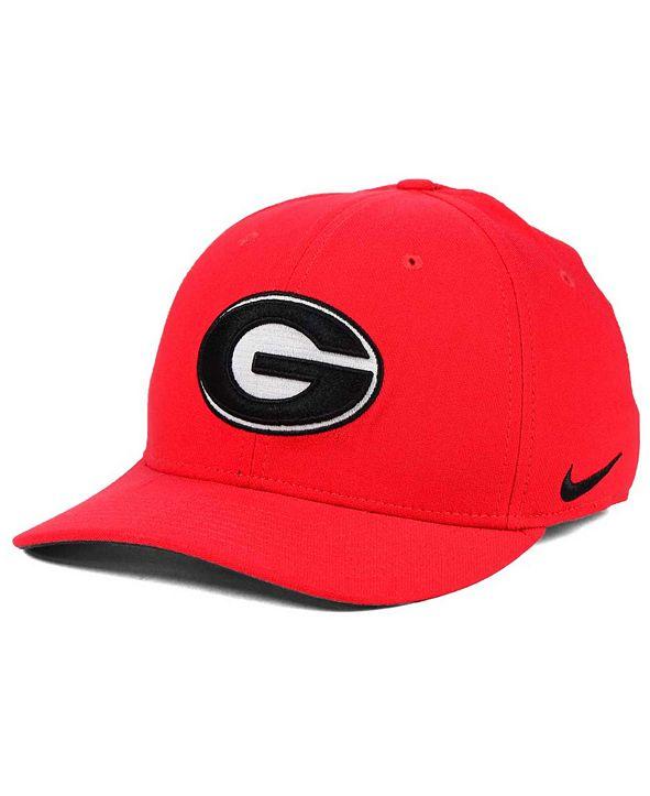 Nike Georgia Bulldogs Classic Swoosh Cap