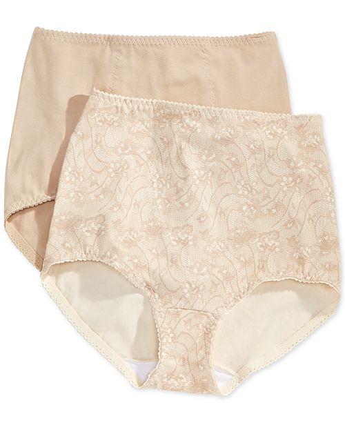 114a6af4d68 Bali Women s Light Tummy-Control Cotton 2-Pack Brief X037   Reviews ...
