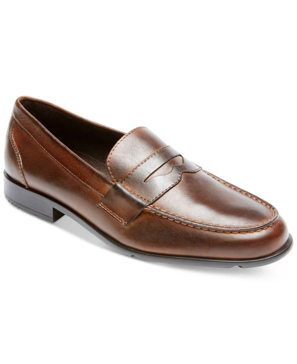 Rockport Leather Upper Men's Classic Penny Loafers