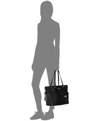 michael kors jet set large pocket diaper bag handbags rh macys com