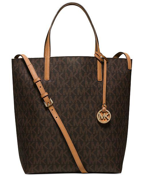 4e3a76dfe3a7 Michael Kors Hayley Large Convertible Tote   Reviews - Handbags ...