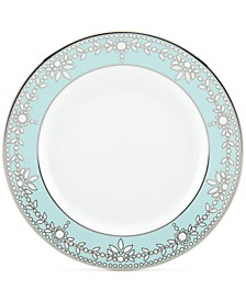 Empire Pearl Turquoise  Bone China Butter Plate