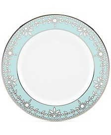 Marchesa by Lenox Empire Pearl Turquoise  Bone China Butter Plate