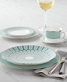 Brian Gluckstein by Lenox Dinnerware, Clara Aqua Collection