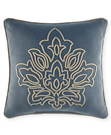 "CLOSEOUT! Croscill Captain's Quarters 16"" Square Decorative Pillow"