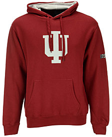 Colosseum Men's Indiana Hoosiers Big Logo Hoodie