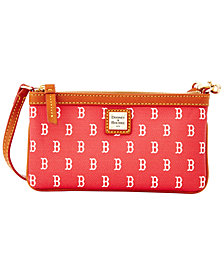 Dooney & Bourke Boston Red Sox Large Slim Wristlet