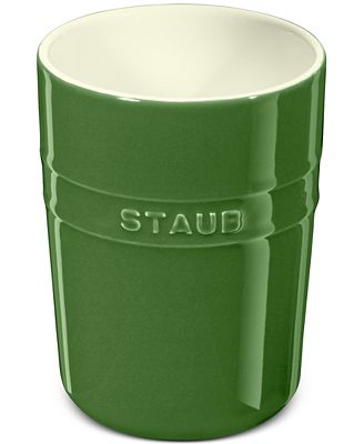 staub basil ceramic utensil holder - kitchen gadgets - kitchen