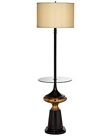 CLOSEOUT! Pacific Coast Empire Floor Lamp with Tray Table, Created for Macy's
