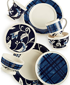 Fitz and Floyd Bristol Mix & Match Dinnerware Collection