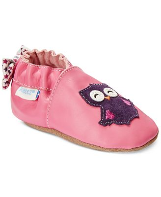 Robeez Baby Girls Owlivia Shoes Shoes Kids & Baby