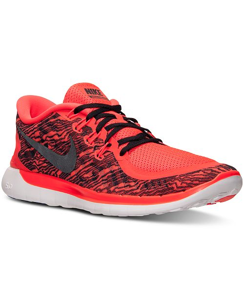 cheap for discount 99f64 04656 Nike. Men s Free 5.0 Print Running Sneakers from Finish Line. 8 reviews.  main image  main image ...