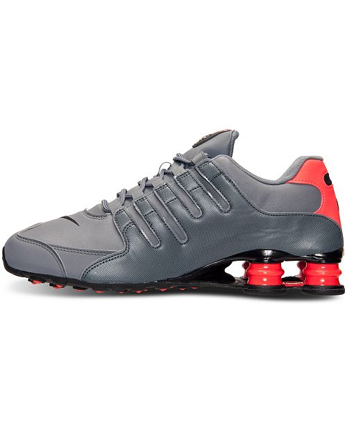 size 40 a3053 db8fc ... Nike Men s Shox NZ Running Sneakers from Finish Line ...