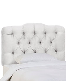 Brooke Queen Tufted Headboard, Quick Ship