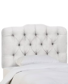 Brooke Twin Tufted Headboard, Quick Ship