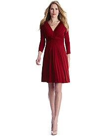 Seraphine Maternity Twist-Front Dress