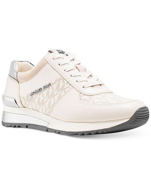 6b32e2b1a38d Michael Kors Allie Wrap Trainer Sneakers   Reviews - Sneakers ...