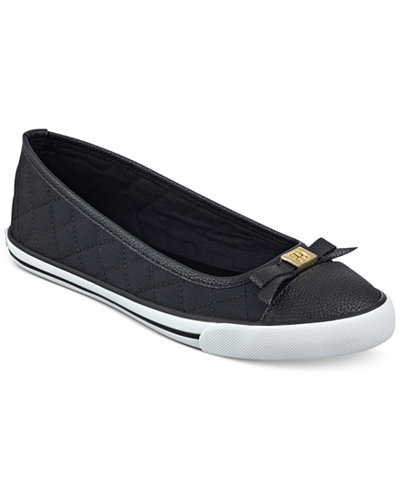 tommy hilfiger beth ballet flats sneakers shoes macy 39 s. Black Bedroom Furniture Sets. Home Design Ideas