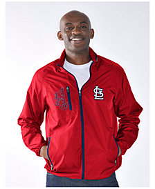 G-III Sports Men's St. Louis Cardinals Game Plan Jacket