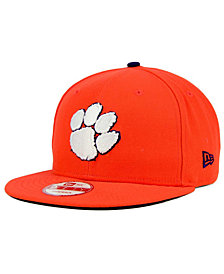 New Era Clemson Tigers Core 9FIFTY Snapback Cap