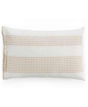 Hotel Collection Modern Eyelet Pair of Standard Shams Created for Macys Bedding