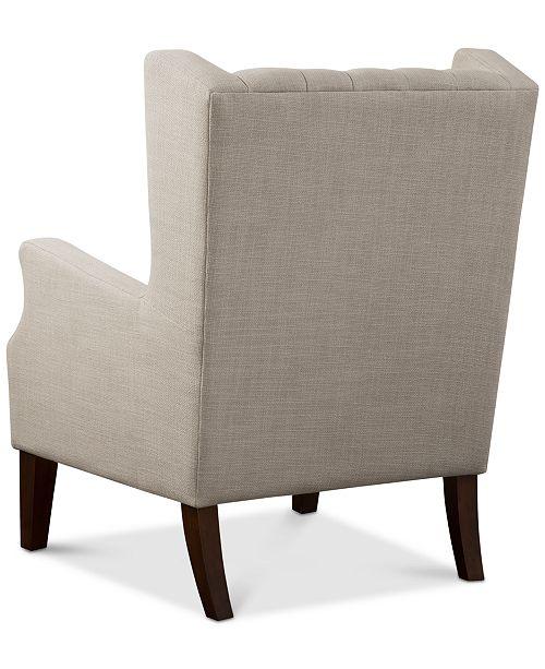 Fabulous Stedman Fabric Accent Chair Quick Ship Inzonedesignstudio Interior Chair Design Inzonedesignstudiocom