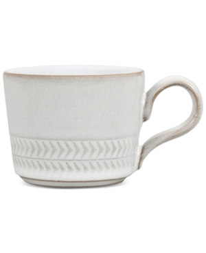 Denby Natural Canvas Stoneware Textured Espresso Cup