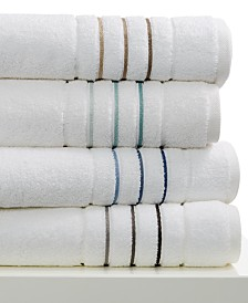 Hotel Collection Ultimate MicroCotton Borderline Bath Towel Collection, 100% cotton, Created for Macy's
