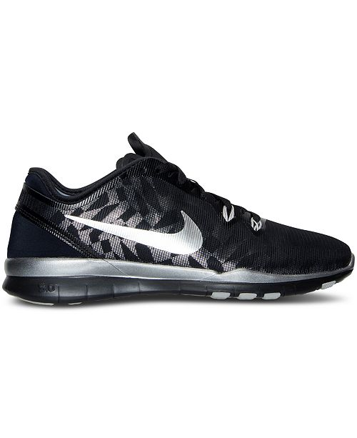 wholesale dealer b7e56 285e8 ... best price nike womens free 5.0 tr fit 5 metallic training sneakers  from finish line finish