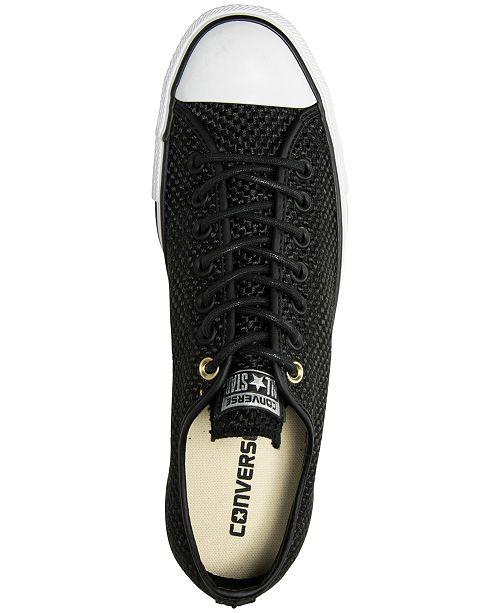 8d5f1064d25c ... Converse Men s Chuck Taylor All Star Ox Amp Cloth Casual Sneakers ...