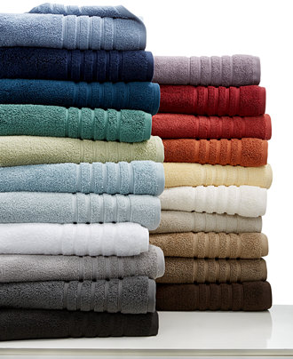 Hotel Bath Towels And Robes To Complete Your Home Spa - Micro cotton towels for small bathroom ideas