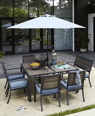 Harlough Outdoor Dining Collection Furniture Macy 39 S