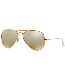 Ray-Ban ORIGINAL AVIATOR GRADIENT Sunglasses, RB3025 62