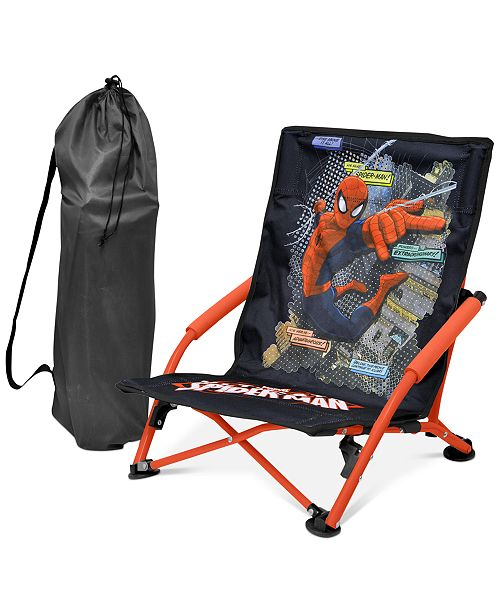 Wondrous Marvel Spider Man Kids Folding Lounge Chair Quick Ship Ibusinesslaw Wood Chair Design Ideas Ibusinesslaworg