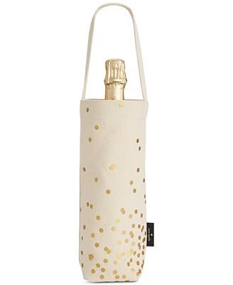 kate spade new york Gold Confetti Dot Wine Tote
