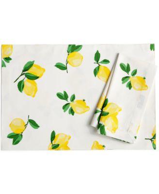 Make Lemonade Table Linens Collection Napkin