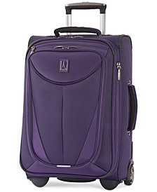 "CLOSEOUT! Travelpro Walkabout 3 22"" Expandable Carry On Rolling Suitcase, Created for Macy's"