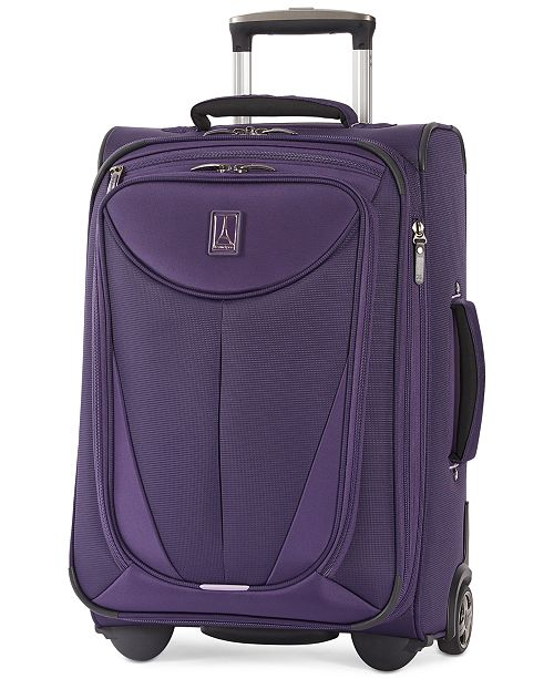 """Travelpro CLOSEOUT! Walkabout 3 22"""" Expandable Carry On Rolling Suitcase, Created for Macy's"""