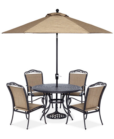 Beachmont II Outdoor 5-Pc. Dining Set (48