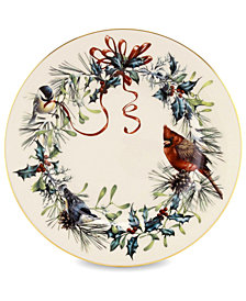 Lenox Winter Greetings Salad Plate