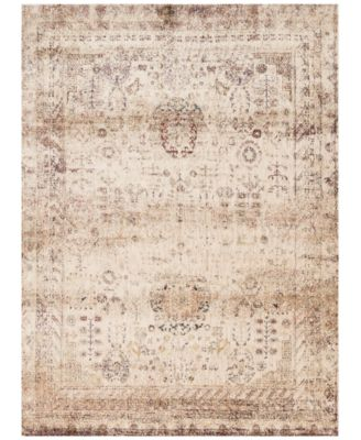 """Andreas   AF-01 Ivory/Multi 2'7"""" x 4' Area Rug"""