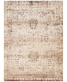 "Macy's Fine Rug Gallery Andreas   AF-01 Ivory/Multi 7'10"" x 10'10"" Area Rug"