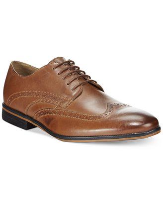 Bostonian Gellar Wing Tip Lace Up Shoes
