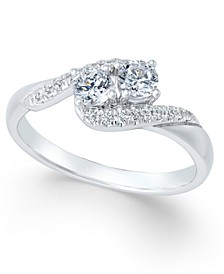 Diamond Anniversary Ring (1/2 ct. t.w.) in 14k White Gold