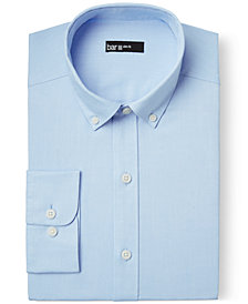 Bar III Slim-Fit Light Blue Oxford Dress Shirt, Created for Macy's