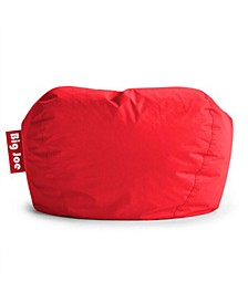 "Big Joe Bea 98"" Round Bean Bag Chair, Quick Ship"