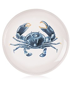 Cape Coral Collection Crab Accent Plate